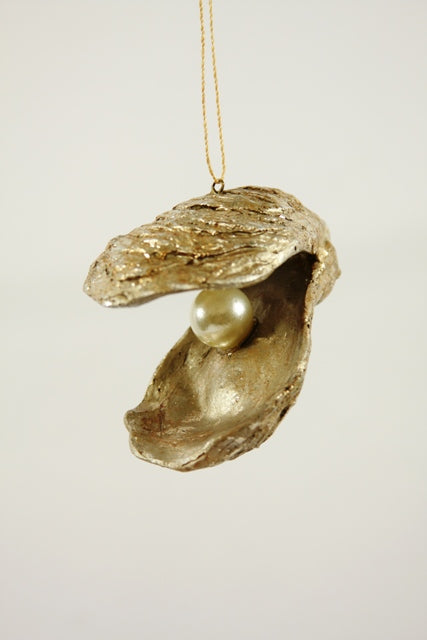 Oyster With Pearl Ornament