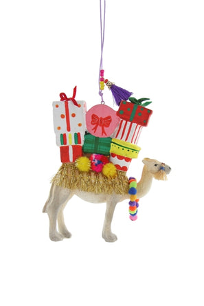 Merriment Camel Ornament