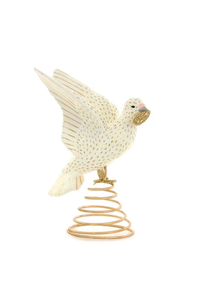 Peace on Earth Dove Tree Topper