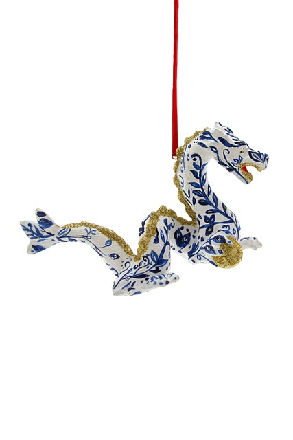 Chinoiserie Dragon Ornament