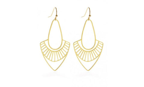 Modern Art Deco Earrings