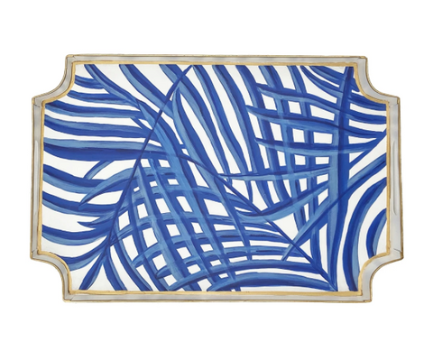 Blue Palm Jaye Tray