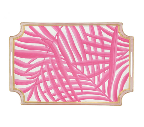 Pink Palm Jaye Tray