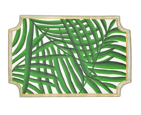 Green Palm Jaye Tray