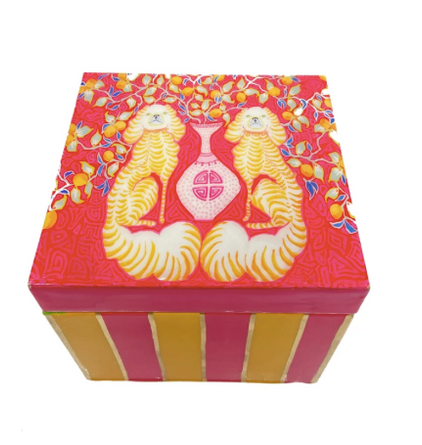 Paige Gemmel Staffies & Lemons Decorative Gift Box
