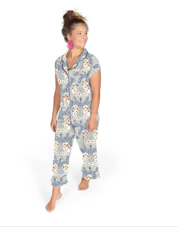 Paige Gemmel Staffy Capri PJ Set SATEEN