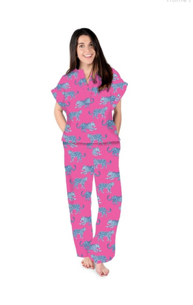Here Kitty Piper Pajama Set KNIT