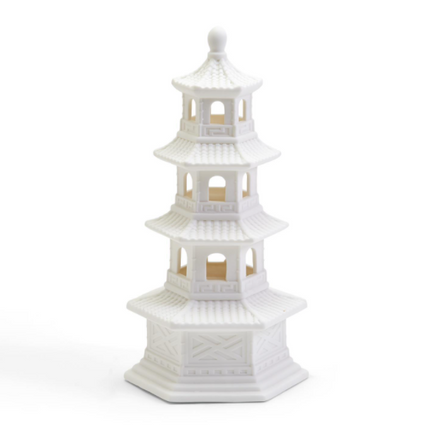 Pagoda Decor With LED Function