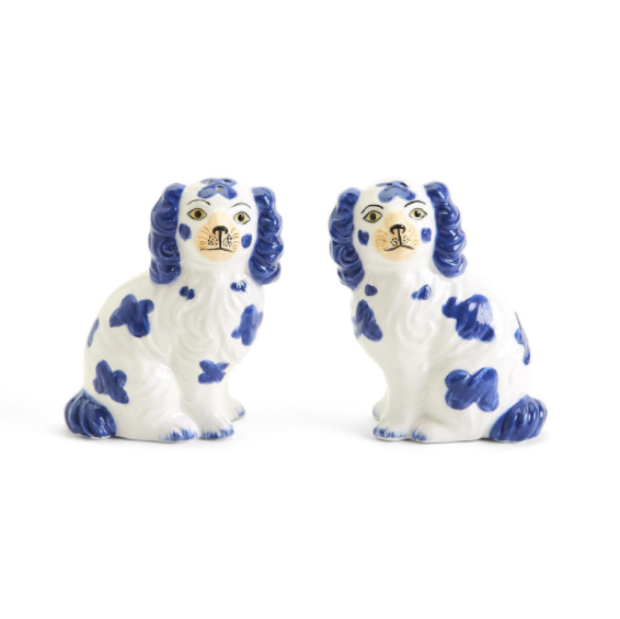 Staffordshire Dog Salt and Pepper Shaker Set