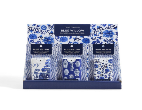 Blue Willow Lavender Scented  HAND SANITIZER ON GIFT CARD A/3 Patterns