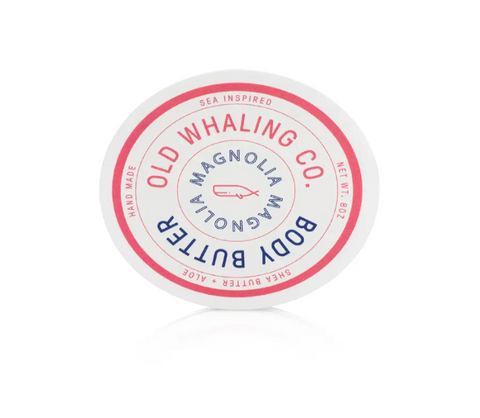Old Whaling Magnolia Body Butter 8oz