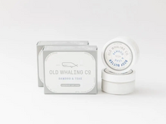 Old Whaling Body Butter Bamboo Teak 2oz Travel