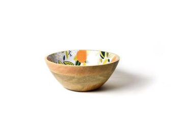 "Citrus Mango Footed Bowl 12"" D"