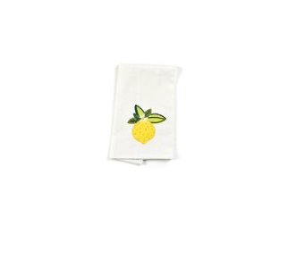 Lemon Small Hand Towel
