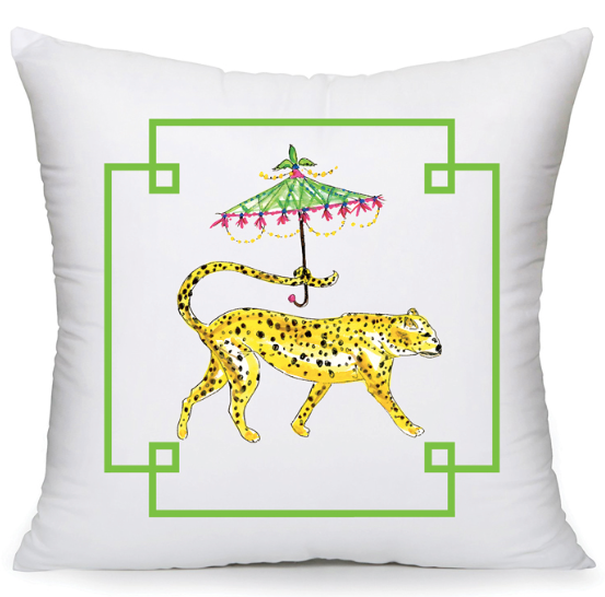 Fancy Cheetah Pillow