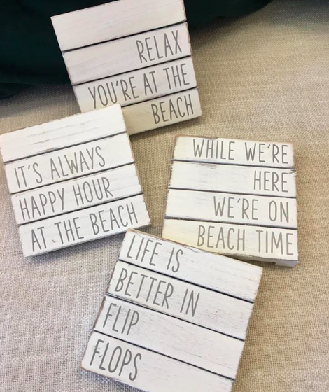 Life at the Beach Coasters S/4