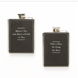 Wedding Flask In Gift Box