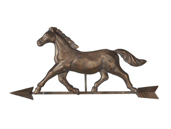 Wall Mounted Horse & Arrow