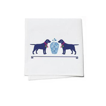 TASSEL DOGS COCKTAIL NAPKINS (S/4) BY WH HOSTESS