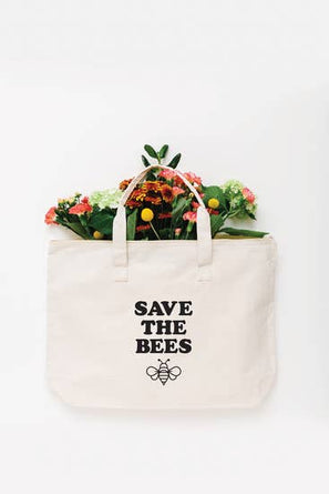 Save The Bees Reusable LARGE Tote