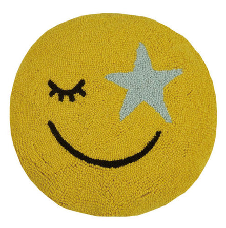 All Smiles Emoji Hook Pillow