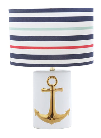 "Anchor's Away Lamp 24""x8"""