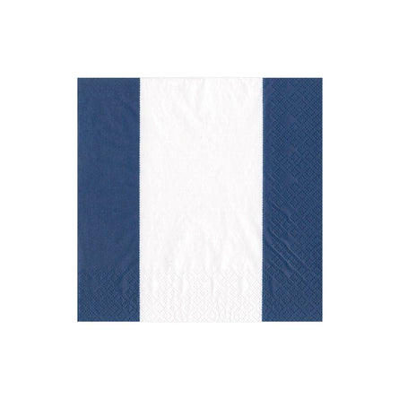 Bandol Stripe Paper  Cocktail Napkin