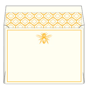 Bee Social Stationery Set