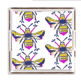 Katie Kime Bees Knees 12x12 Tray
