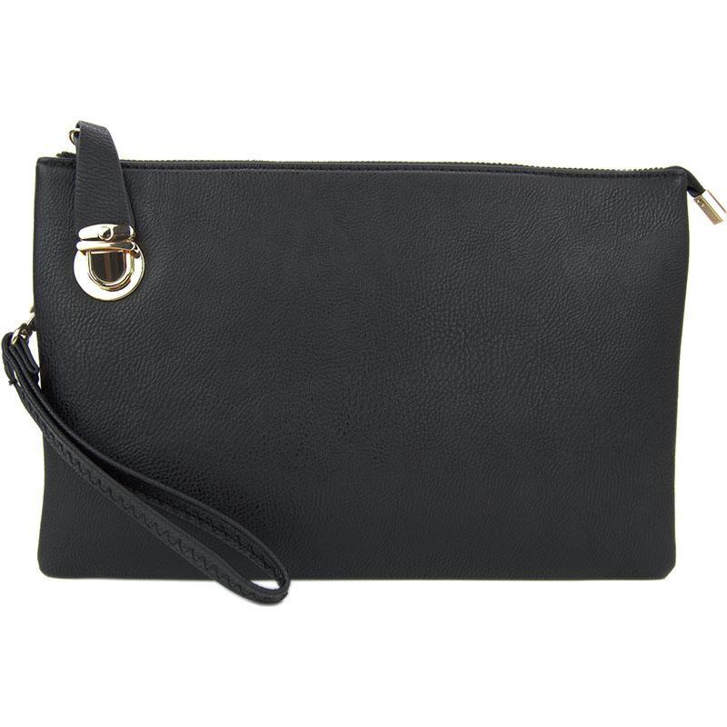 discount coupon well known special price for Florence Black Crossbody Clutch