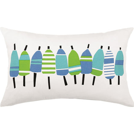 Blue Buoy Lumbar Pillow