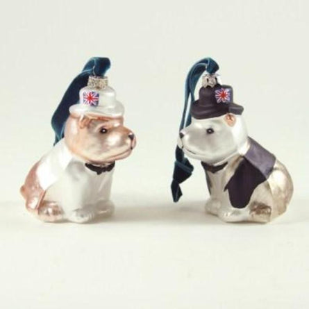 British Bulldog Ornament
