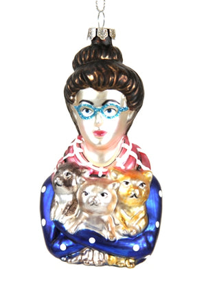 Cat Lady Ornament