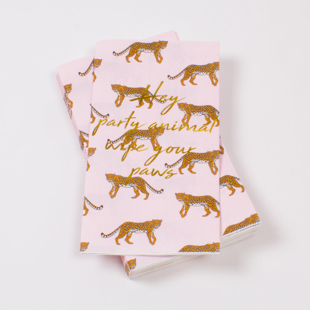 Cheetah Guest Towel