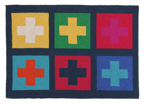Crosses Hook Rug