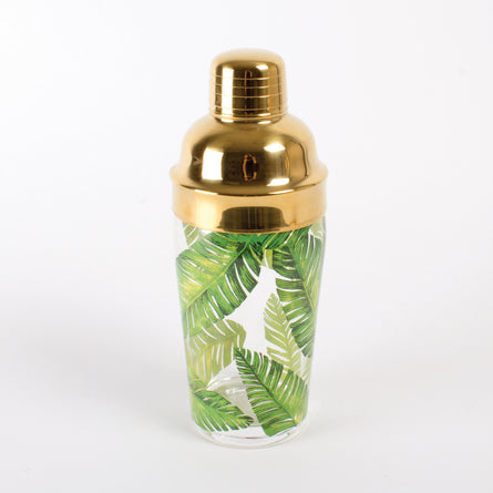 Palm Leaf Cocktail Shaker