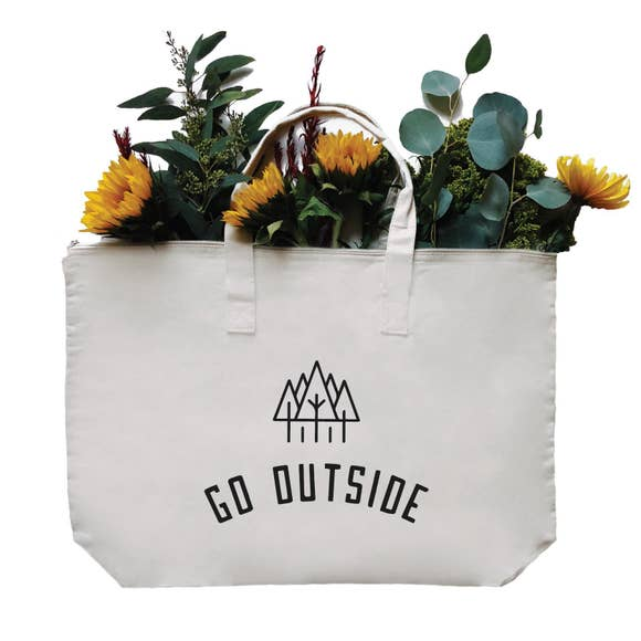 Go Outside LARGE Tote