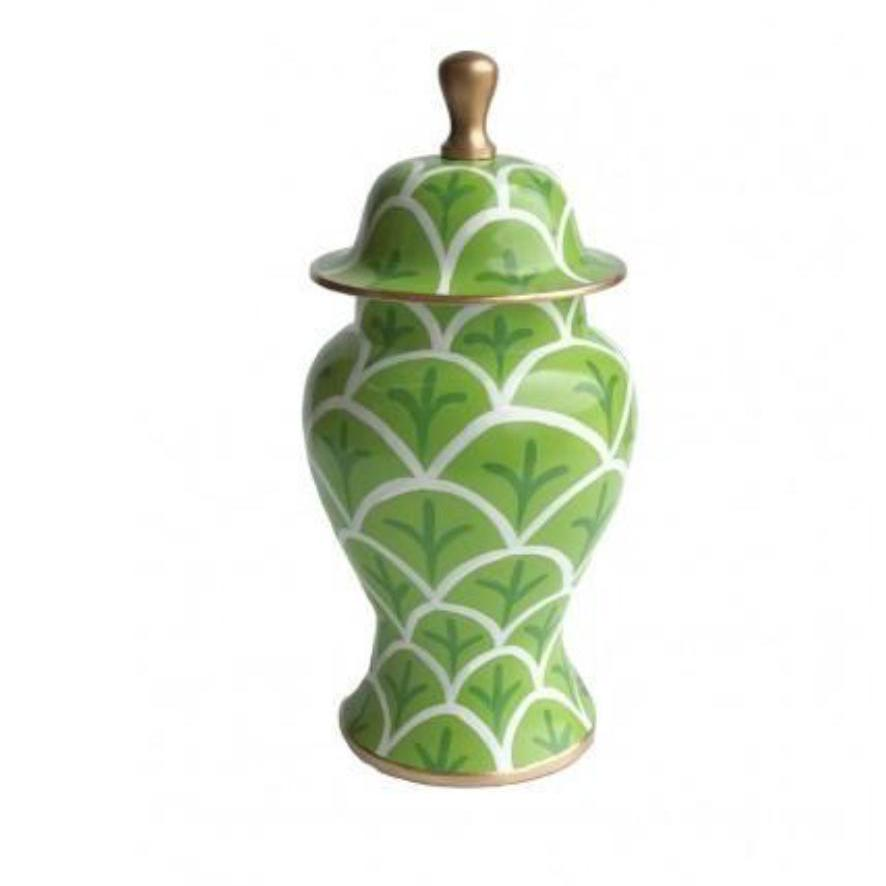 Green Small Bedford Ginger Jar