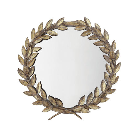Antique Style Laurel Wreath Mirror