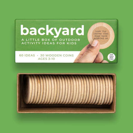 Backyard Activity Ideas for Kids Box
