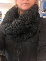 Chunky Cowl (Charcoal Grey)