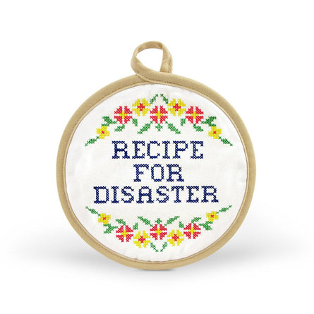 Recipe For Disaster Pot Holder