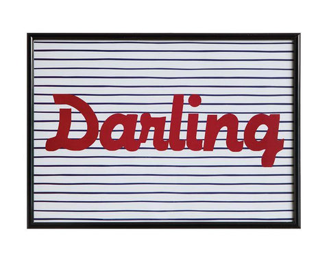 Darling Wall Art