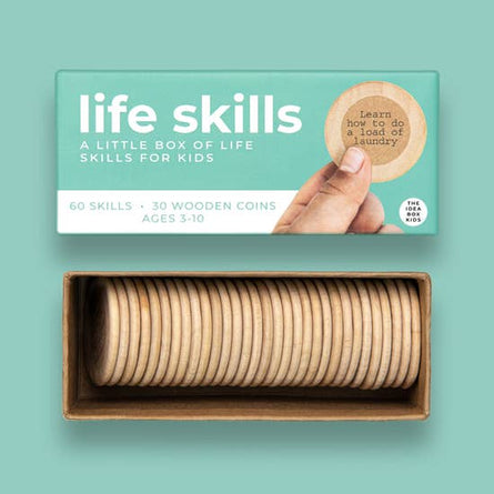 Simple Life Skills For Kids Idea Box