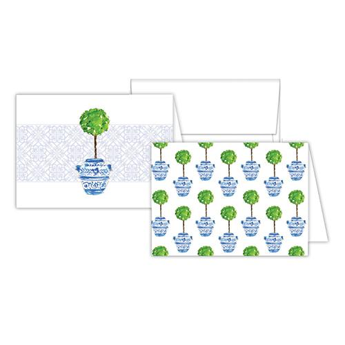Topiary Notecards
