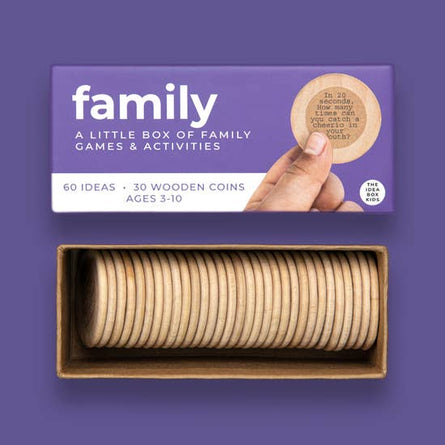 Family Game Night Idea Box