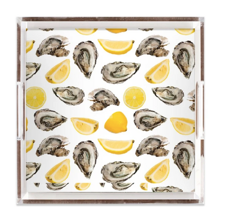 The World Is Your Oyster 12x12 Tray