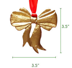 S/4 Bow Ornament Gift Set