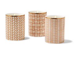 Rattan Weave Candle In Gift Box