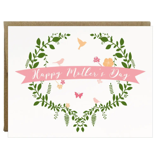 Happy Mother's Day Garden Greeting Card